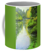 lily Pond reflections Coffee Mug