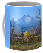 Longs Peak In The Fall  Coffee Mug