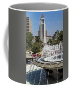 Los Angeles City Hall And Arthur J. Will Memorial Fountain Coffee Mug