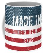 Made In New Ulm, Texas Coffee Mug