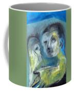 Man And Bird Coffee Mug
