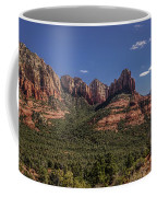 Mormon Canyon Panorama Coffee Mug by Andy Konieczny