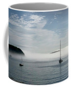 Morning Mist On Frenchman's Bay Coffee Mug