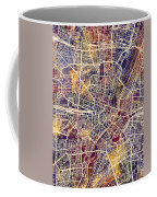 Munich Germany City Map Coffee Mug