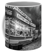 On The Midway - Temptations Of The Night 4 Bw Coffee Mug