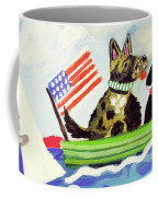 Patriotic Puppies Coffee Mug