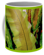 Plants And Leaves Hawaii Coffee Mug