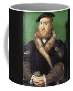 Portrait Of A Bearded Man With A Fur Coat  Coffee Mug