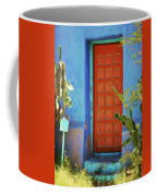 Red Door Adobe Coffee Mug