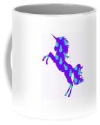 Snowman Wrapping Paper Unicorn Coffee Mug