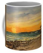 Sunset On Bradenton Beach, Fl. Coffee Mug