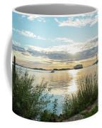 Sunset On The Elbe Coffee Mug