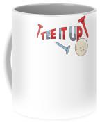 Tee It Up Golf Lovers For Men Or Women Gift Present Birthday Christmas Coffee Mug