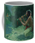 The Call Of The Flute Coffee Mug