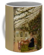 The Family Of Mr  Westfal In The Conservatory  Coffee Mug