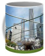 The Great Lawn, Trellis, Bandshell And Jay Pritzker Pavilion, Mi Coffee Mug