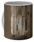 The Interior Of The Buurkerk At Utrecht  Coffee Mug
