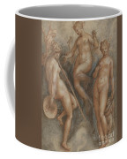 Three Goddesses  Minerva, Juno And Venus Coffee Mug