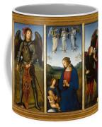 Three Panels From An Altarpiece  Certosa  Coffee Mug
