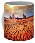 Totem Dunes Coffee Mug by Scott Kemper