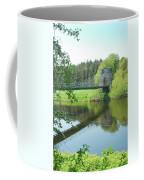 Union Bridge At Horncliffe On River Tweed Coffee Mug
