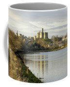 Warkworth Castle And River Aln Coffee Mug