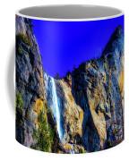Winter Bridalveil Falls Coffee Mug