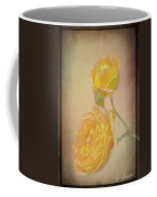 Yellow Roses Coffee Mug by Susan Leonard