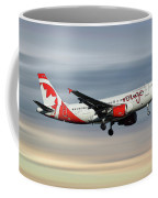 Air Canada Rouge Airbus A319-114 Coffee Mug