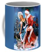 Vintage Soviet Holiday Postcard Coffee Mug
