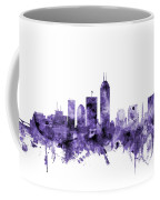 Indianapolis Indiana Skyline Coffee Mug