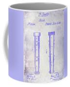 1860 Fire Hose Nozzle Patent Blueprint Coffee Mug