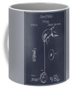 1866 Yo-yo Whirligig Blackboard Patent Print Coffee Mug