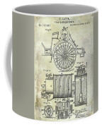 1873 Fire Extinguisgers Patent Coffee Mug