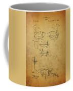 1885 Hunting Decoy Patent Coffee Mug