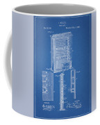1885 Pool Rack Patent Coffee Mug