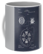 1896 Tesla Alternating Motor Blackboard Patent Print Coffee Mug