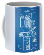 1899 Photographic Camera Patent Print Blueprint Coffee Mug