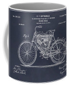 1901 Stratton Motorcycle Blackboard Patent Print Coffee Mug