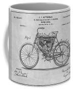 1901 Stratton Motorcycle Gray Patent Print Coffee Mug