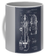 1903 Fire Hydrant Blackboard Patent Print Coffee Mug