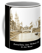 1904 World's Fair Lagoon And Electricity Building Coffee Mug