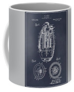 1917 Hand Grenade Blackboard Patent Print Coffee Mug