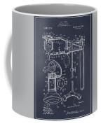 1919 Anesthetic Machine Blackboard Patent Print Coffee Mug
