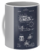 1919 Motor Driven Hair Clipper Blackboard Patent Print Coffee Mug