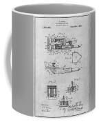 1919 Motor Driven Hair Clipper Gray Patent Print Coffee Mug