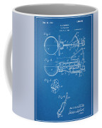 1924 Ice Cream Scoop Blueprint Patent Print Coffee Mug