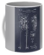 1929 Harley Davidson Front Fork Blackboard Patent Print Coffee Mug