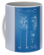 1929 Harley Davidson Front Fork Blueprint Patent Print Coffee Mug