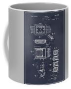 1930 Leon Hatot Self Winding Watch Patent Print Blackboard Coffee Mug